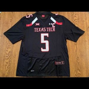 Patrick Mahomes Texas Tech Black Jersey